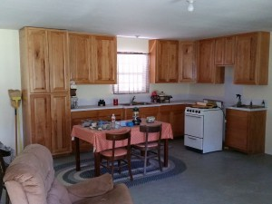 central texas hunting cabin 3 kitchen