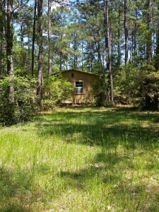 Central Texas hunting cabin with wooded lot and land